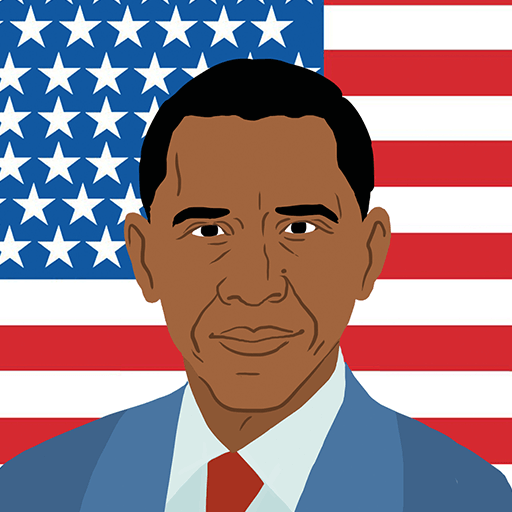 Video Game - Agario Skins - Obama